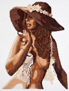 Изображение Девушка в шляпе