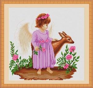 Изображение Ангелочек с косулей (Ingeras cu caprioara)