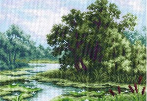 Изображение Кувшинки на пруду