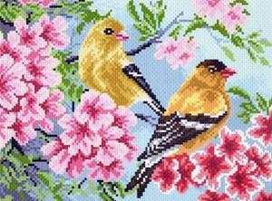 Изображение Желтые птички