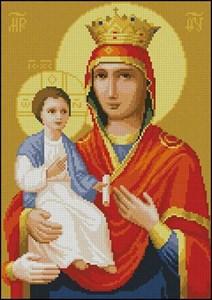 Изображение Богородица Троеручица