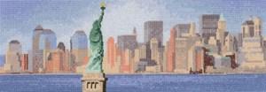 Изображение Очертания Нью-Йорка (New York Skyline)