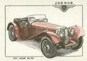 Изображение Ягуар SS100 (1937 год)