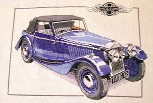 Изображение Машина 1939 Morgan 4-4