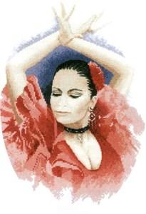 Изображение Танцовщица Фламенко
