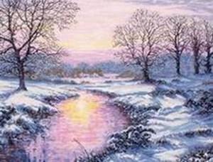 Изображение Зимний закат (Winter Sunset)
