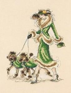 Изображение Гарцующие пудели (Prancing Poodles)
