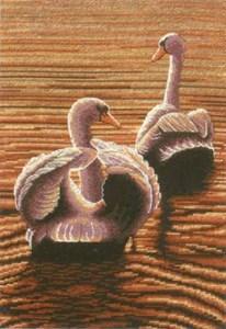 Изображение Лебеди на закате (Twilight Swans)