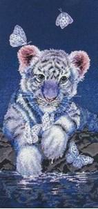 Изображение Белый тигренок (White Baby Tiger)