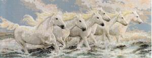 Изображение Лошадиное море (Seaside horses)