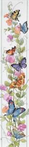 Изображение Душистый горошек и бабочки (Butterfly Bellpull)