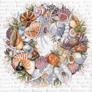 Изображение Венок из ракушек (Seashell Wreath)