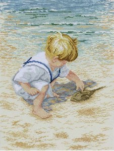 Изображение Мальчик с крабом (Boy with Horseshoe Crab)