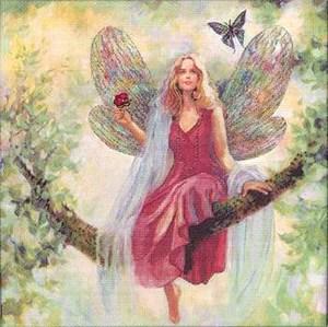 Изображение Летнее дерево феи (Summer Tree Fairy Picture)