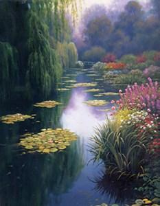 Изображение Вид с моста Моне (View From Monet's Bridge)