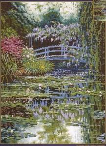 Изображение Японский мостик Моне (Monet's Japanese Bridge )