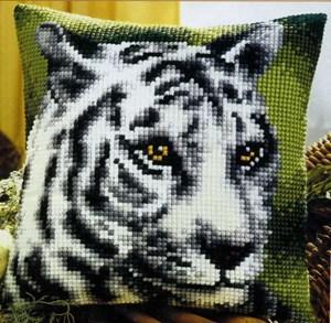 Изображение Белый тигр (подушка)
