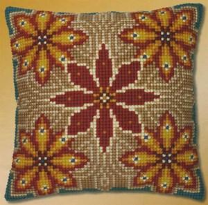 Изображение Бежевый орнамент 2 (подушка)