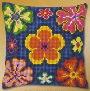 Изображение Яркие цветы (подушка) (Bright Flowers)