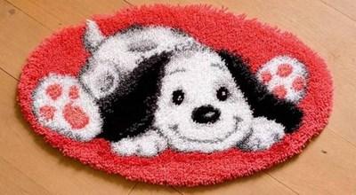 Изображение Игривый щенок (коврик)