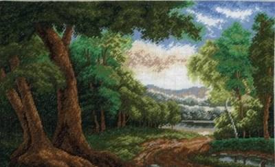 Изображение Лесная дорога