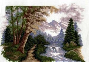 Изображение Горный пейзаж