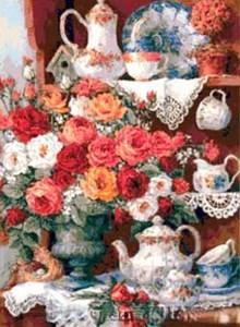 Изображение Чай и розы