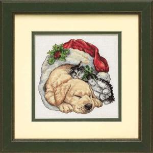 Изображение Домашние животные рождественским утром (Christmas Morning Pets)