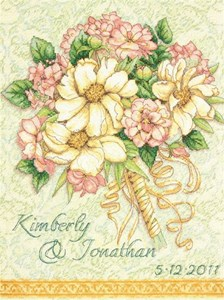 Изображение Свадебный букет Метрика (Wedding Record Bouquet)
