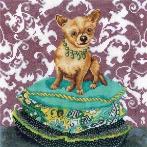 Изображение Интерьерные собачки - Чихуахуа рыжий