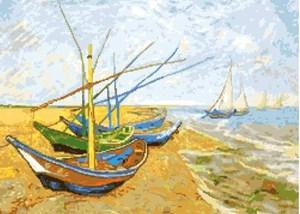 Изображение Лодки Ван Гог
