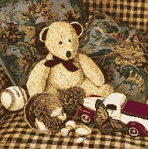Изображение Медведь с лентой