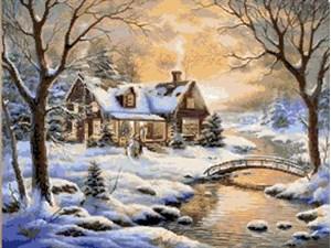 Изображение Зимняя река