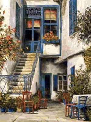 Изображение Вид Санторини