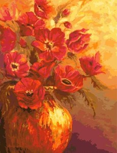 Изображение Красные цветы
