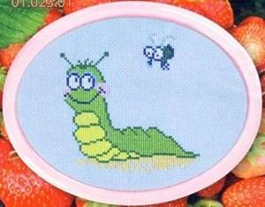 Изображение Веселая гусеничка