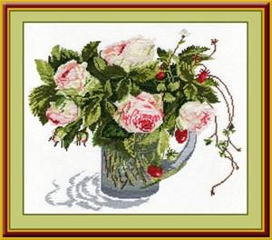 Изображение Розы и земляника