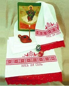 Изображение Хлеб да соль (Рушник)