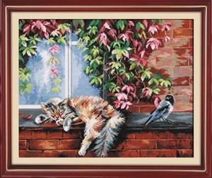 Изображение Кот и ворона