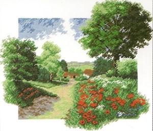 Изображение Пейзаж с маками