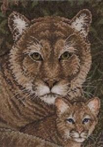 Изображение Семья пум (Cougar Family)