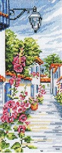 Изображение Цветущая улица (La ruelle fleurie)