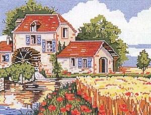 Изображение Мельница в маках (Le moulin aux coquelicots)