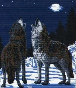 Изображение Волки под луной