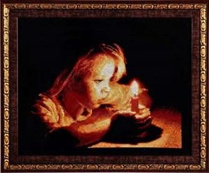 Изображение Девочка со свечой