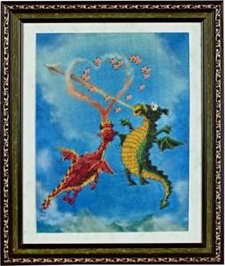 Изображение Влюбленные драконы