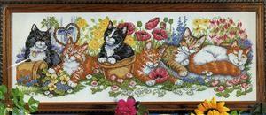 Изображение Ряд котят (Cat Row)