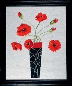 Изображение Маки в вазе (Poppies in Vase)