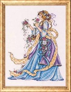 Изображение Дама с розами (Rose Lady)