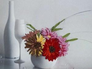 Изображение Герберы в вазе